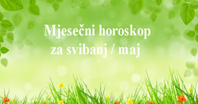 Mjesečni horoskop svibanj / maj 2018