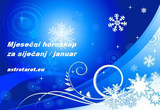 Mjesečni horoskop za siječanj / januar 2019
