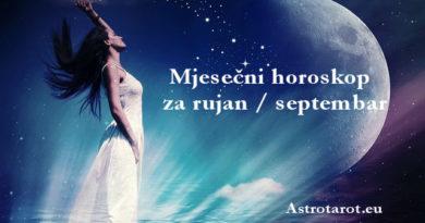 Mjesečni horoskop za septembar / rujan 2018
