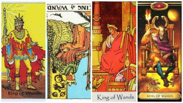 Tarot karta Kralj štapova