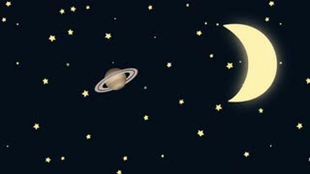 aspekti mjeseca sa saturnom