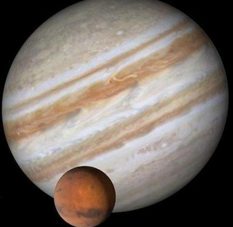 Aspekti Marsa sa Jupiterom