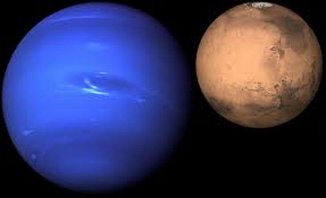 Aspekti Marsa sa Neptunom
