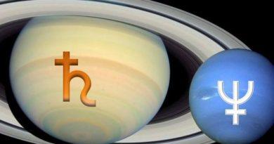 Aspekti Saturna sa Neptunom