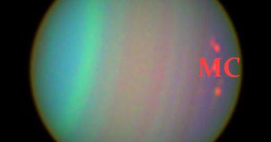 Aspekti Urana sa Medium Coeli