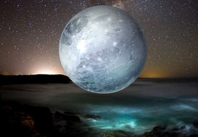 Aspekti Plutona sa Sjevernim mjesečevim čvorom