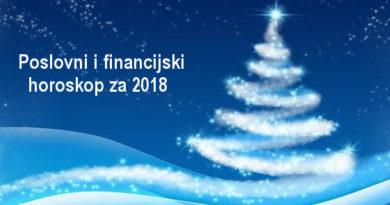 Poslovni i financijski horoskop za 2018 godinu