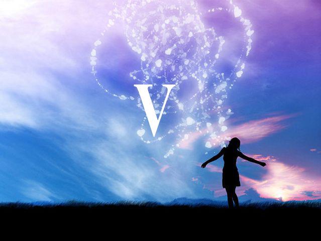 Sanjati na slovo V