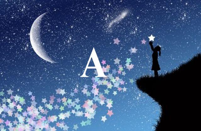 Sanjati na slovo A