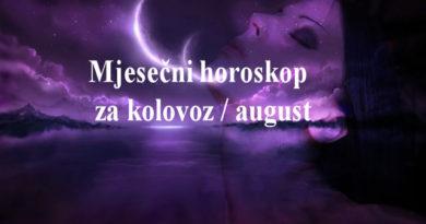 Mjesečni horoskop za kolovoz / august 2018