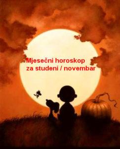 Mjesečni horoskop za studeni / novembar 2108