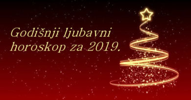 Godišnji ljubavni horoskop za 2019.