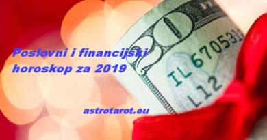 Poslovni i financijski horoskop za 2019