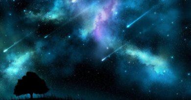 Blagdanski spektal na nebu