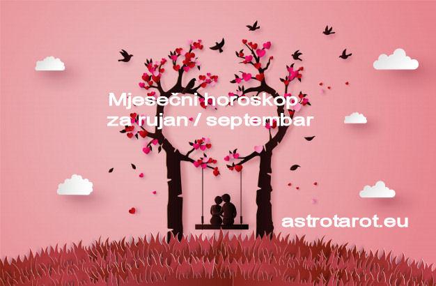 Mjesečni horoskop za rujan / septembar 2019