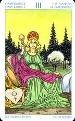 tarot karta kraljica
